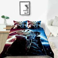 3D Gamer Video Games Doona Duvet Cover Bedding Quilt Cover PillowCase 08#