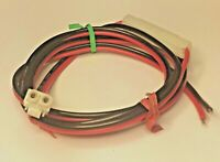 CEA-DC-2510 2-pin (round + D-shape)13.8VDC cord Uniden/President, Relm, Standard