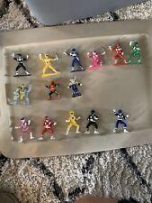 "1993 Bandai Saban ACT... Mighty Morphin Power Rangers Lot 13 PVC 3"" Mini Figures"