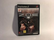 PS2 ZONE OF THE ENDERS SPIEL KONAMI PLAYSTATION 2