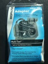 Hopkins Trailer Light Adaptor Converter Plug 7 RV to 6 pole & 4 Pin