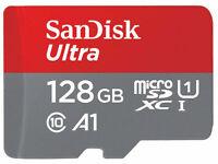 SanDisk 128GB Micro SD SDXC Ultra Memory Card 100MB/s (Class 10) n SD Adaptor