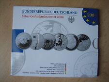 10 Euro Gedenkmünzeset 2004 in PP