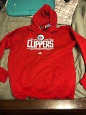 Men's Adidas La Clippers Adidas Hoodie Nba Large