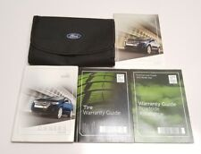 2011 FORD EDGE OWNERS MANUAL USER GUIDE LIMITED SPORT SEL SE AWD V6 3.5L 3.7L S