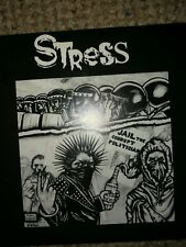 "Stress Jail  Corrupt Politicians 7"" Irish Hardcore,Discharge,Conflict,Disorder"