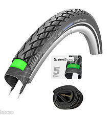Schwalbe MARATHON HS420 Performance Line Wired tyre Various Sizes with Free Tube
