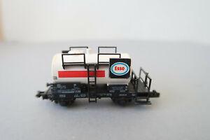 """Fleischmann N 8400 Kesselwagen 000 2 797-7  DB """" ESSO """" (AK17-5S4/34)"""