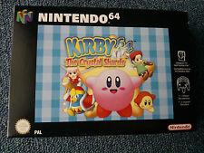 Nintendo N64 Kirby Crystal Shards Game
