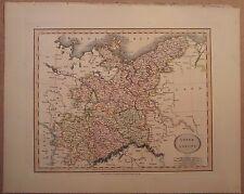John cary carte de la haute saxe 1813 de son nouveau elementary atlas
