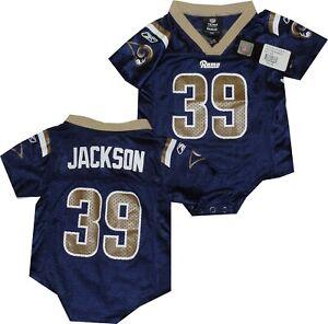 St Louis Rams Steven Jackson Reebok Creeper Jersey  Clearance $35.00