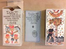 TAROT DIVINATOIRE JACQUES VIEVILLE / 78 CARTES / TRES BON ETAT