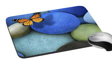 Butterfly Mouse Pad Multicolor Easy Typing Rectangular Computer Mouse Mat