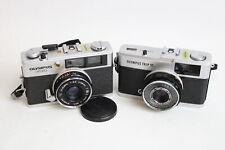 2 x Olympus FILM CAMERAS Inc. Trip 35 & 35 ED w/ 40mm F/2.8 & 38mm F/2.8 Lenses