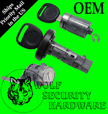 GM OEM Ignition Key Switch Lock Cylinder & Single Door & Tailgate Set 2 Keys