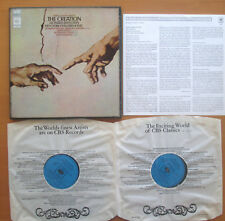 CBS 77221 Haydn The Creation Bernstein New York Philharmonic 2xLP + insert NM/EX