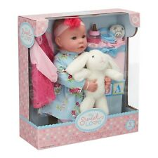 "My Sweet Love® Baby 18""  Doll Accessories 9 pc Box with Bunny"