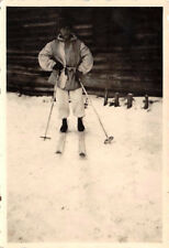 deutscher Soldat Tarnjacke Schneeschuh Chatsk Russland
