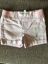 Jumping Beans Infant Girls 6M Months 6 Month Pink Striped Shorts NWT