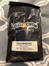 New Philz Coffee - Philharmonic (medium blend) - 16oz / 454g whole bean Bag