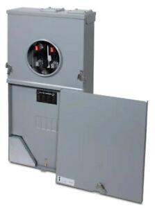 PowerMark Gold 200 Amp 4-Space 8-Circuit Meter Socket Load Center TSMF420CSFL