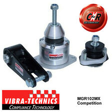 MG TF all variants Vibra Technics Competition Complete Engine Mount Kit MGR102MX