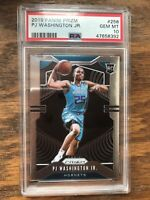 2019-20 Panini Prizm PJ Washington #258 PSA 10 Gem Mint RC Rookie Card Hornets