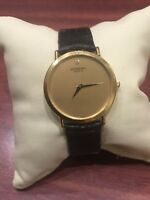 Raymond Weil, Geneve 18K Yellow Gold Plated Diamond Dial Gents' Watch