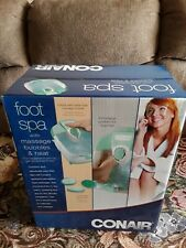 New Conair Massaging Foot Spa with Bubbles, Heat & Light with Toe Touch Controls