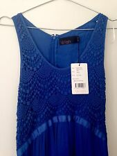 WISH blue maxi dress - Size XS