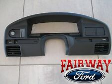 92 & 93 Bronco F-150 F-250 F-350 OEM Ford Instrument Cluster Dash Panel Bezel