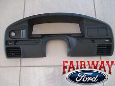 92 & 93 Bronco F-150 F-250 F-350 OEM Ford Instrument Cluster Dash Panel Bezel