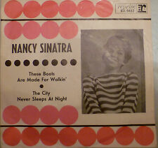 """7"""" 1966 VG +? Nancy Sinatra: these Boots Are Made for Walkin'"""