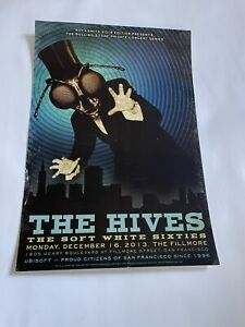 The Hives Fillmore Poster