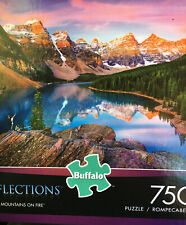 NEW A 750 PIECE JIGSAW PUZZLE BY BUFFALO GAMES - MOUNTAINS OF FIRE