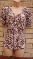 Zara Silk Tops & Shirts for Women's Paisley