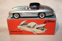 Tekno 1/43 Vintage #925 Mercedes-Benz 300SL, Silver, Superb,  Original Box.