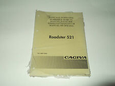 MANUALE D'OFFICINA CAGIVA ROADSTER 521