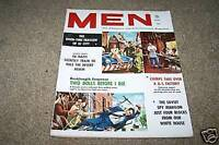 MEN vintage mens adventure magazine lot