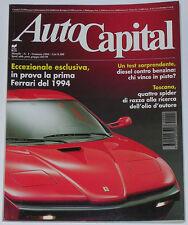 AUTOCAPITAL 1/1994 FERRARI ES1 – PORSCHE 917 – MERCEDES SL 280 / 300 / 600