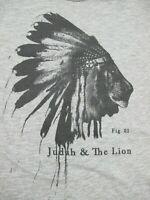 Judah & The Lion Band - Women's XL Gray - Bare & Hatchet - Limited Press T-Shirt
