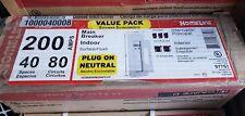 Square D Homeline 200 Amp 40-Space 80-Circuit Indoor Main Breaker Plug-On Neutra