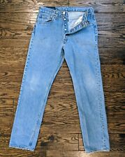 Vintage Women's Levi's 501 High Waisted Button Fly Vintage USA Mom Jeans 31 x 32