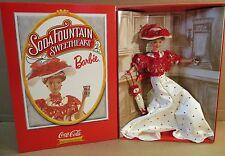 Coca Cola Soda Fountain Sweetheart Barbie D 00006000 oll Fashion Classic New with Shipper