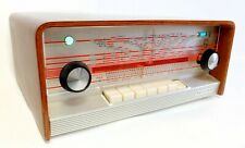PHILIPS A5X83A Tube Radio HiFi Mono Receiver valves Made in Holland Wood Cabinet