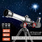 20X 30X 40X Zoom Refractor Astronomical Monocular Telescope with Tripod for   m picture