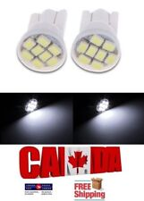 2x T10 194 168 1W 8SMD LED Side Lamp Car Dome Map Wedge Light Bulbs White 6000k