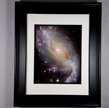 Hubble Space Telescope Galaxy M64 Poster Art Photo Print (Matted & Framed NEW)