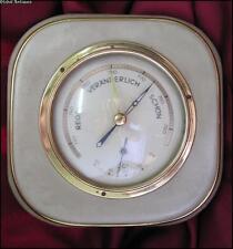 Original 1950s Antique Vintage Hygrometer Thermometer 9.05 inch Germany