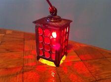 Lampe Außenlampe Laterne 1:12  funktioniert Puppenstube Puppenhaus